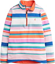 Joules Fairdale Pullover Hoody Age 9-10 Pink Multi Stripe