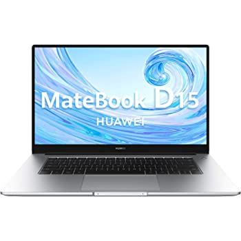 Huawei Matebook D15 - Ordenador Portátil de 15.6'' FullHD (AMD Ryzen 5 3500u, Multi-Screen Collaboration, 8GB RAM, 256GB SSD. Windows 10 Home), Mystic Silver, Teclado Qwerty Español
