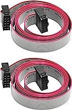 Gikfun 70CM 10 Pin USBISP JTAG AVR Download Wire for Arduino EK1282
