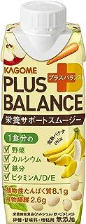 カゴメ Plus Balance 栄養サポートスムージー 完熟バナナMix(紙パック) 250g ×12本