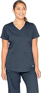 Barco Grey's Anatomy Women's 71166 Two Pocket V-Neck Scrub Top With Shirring Back