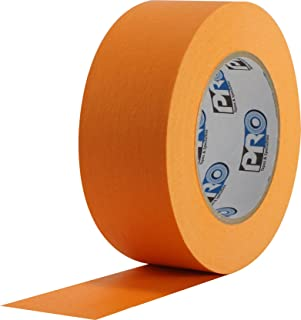 "ProTapes Colored Crepe Paper Masking Tape, 60 yds Length x 2"" Width, Orange (Pack of 24)"