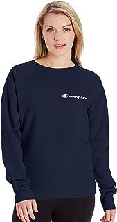 Champion Women's Crewneck, Athletic Navy, Medium