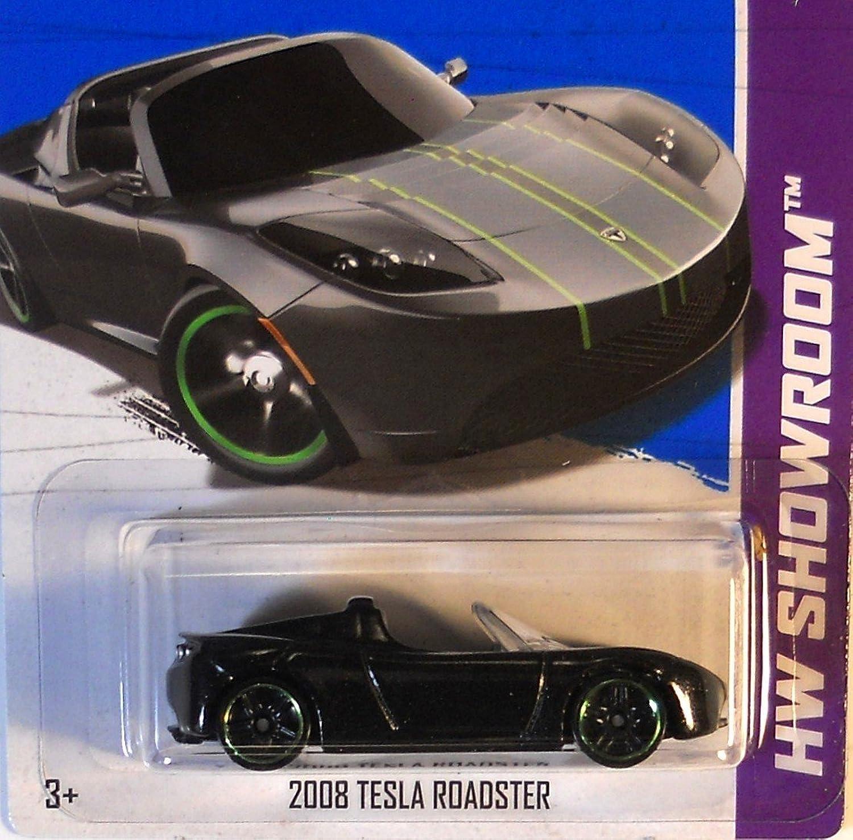 2013 Hot Wheels Hw Showroom Scavenger Hunt [6 6]  2008 Tesla Roadster