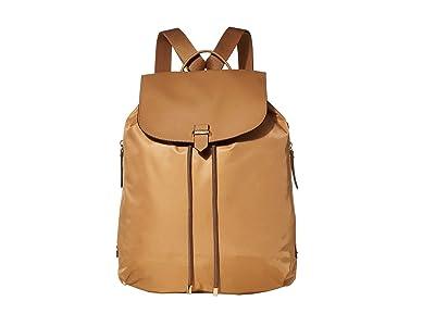 Lipault Paris Plume Avenue 15 Laptop Backpack (Camel) Backpack Bags