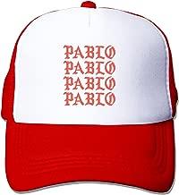 The Life of Pablo Unisex Adjustment Mesh Trucker Cap Hat Black (5 colors)