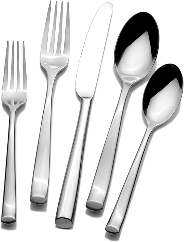 Mikasa 5084412 Addison 20 Piece Stainless Steel Flatware Set Service For 4