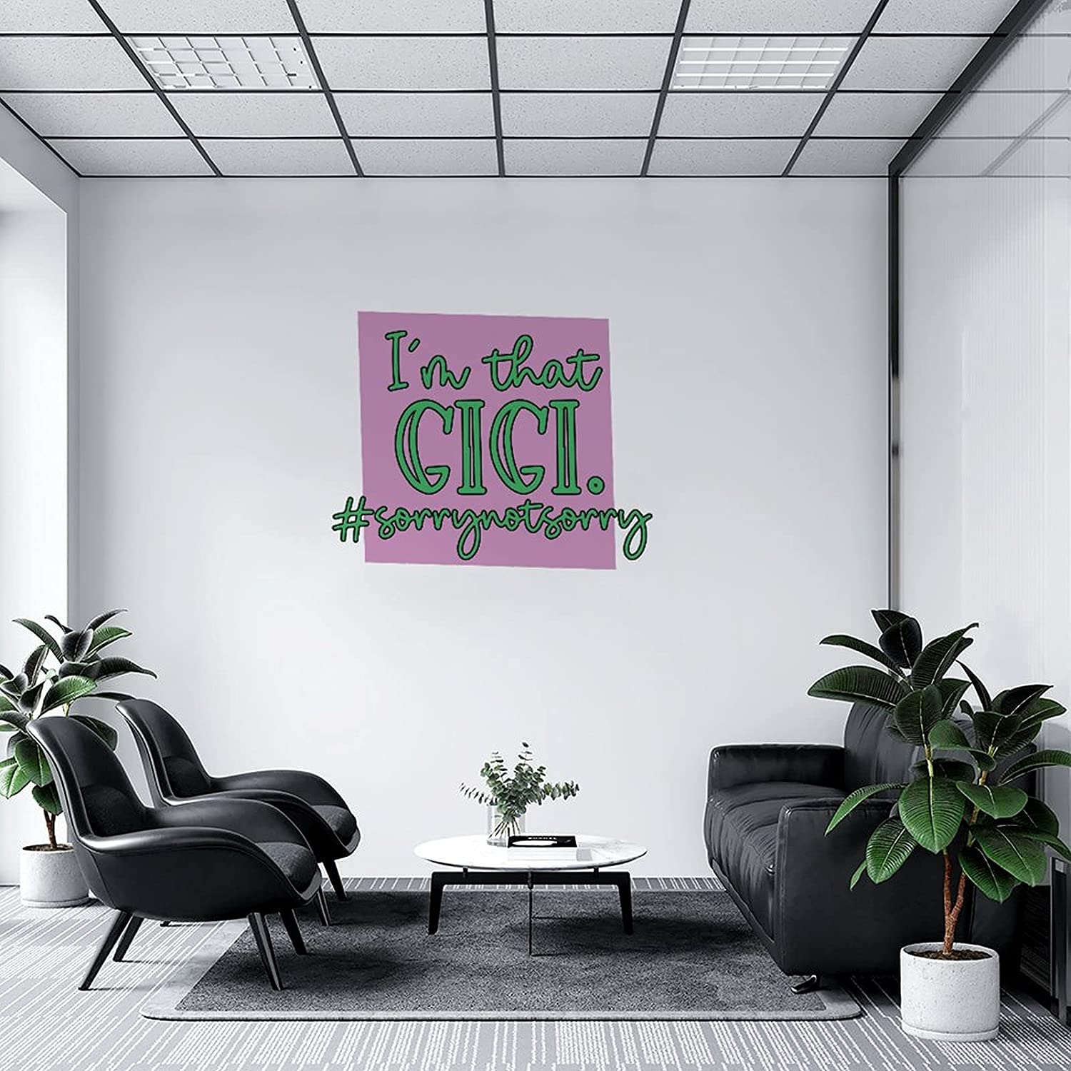 Wall Decal I'm That Gigi Mural Overseas parallel import regular Manufacturer direct delivery item Not Stick Sorry