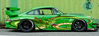 Dragon Colored Side Vinyl Graphics, dargon Car Wrap, dragon Full color Car vinyl graphics, dragon decal car, SUV will fit any car vmcc002 (22