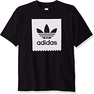 adidas Originals Men's Skate Solid Blackbird Tee