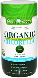 Green Foods, Organic Chlorella, 500 mg, 120 Tablets