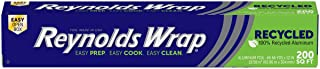Reynolds Wrap Recycled Aluminum Foil, 200 Square Foot Roll