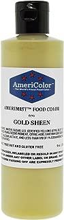 AmeriColor Amerimist Airbrush Color 9 Ounce, Gold Metallic Sheen