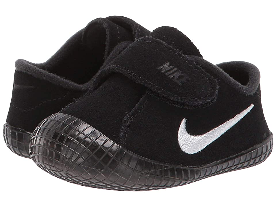 Nike Kids Waffle 1 (Infant/Toddler) (Black/White) Boys Shoes