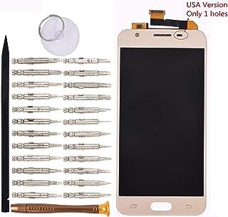 شاشة عرض LCD من Goodyitou مع لوحة لمس رقمية بدون إطار متوافق مع هاتف Samsung Galaxy J5 Prime G570 G570F/DS G570Y-USA الإصد...