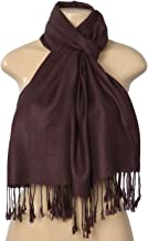 Fashion Scarf Women's Elegant Pashmina Silk Blend Soft Wrap Scarf Shawl
