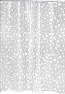 Ridder Shower Curtain, 100% PEVA, White, 180x200 cm
