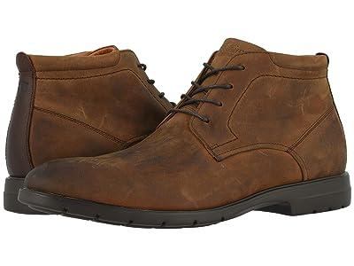 Florsheim Westside Plain Toe Chukka Boot (Brown Crazy Horse) Men