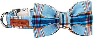 Lionet Paws Dog Cat Collar Bowtie,Soft Comfortable,Adjustable Collar