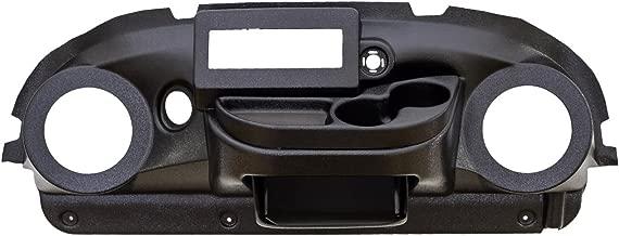VIP PRDHBAEZIRT Club Car Precedent Dash Black ABS EZ Install Din Radio Speaker Cut-Out 6.5 Inches