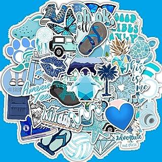 VSCO Blue Vinyl Stickers for Teens Girls Waterproof Cute Ext