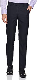 Arrow Men's Relaxed Fit Formal Trousers