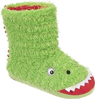 Zapatillas botines de estar por casa modelo Dino para niños