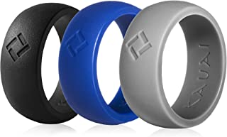 KAUAI - Silicone Wedding Ring for Men. Professional Athletes Series Rings -Leading Brand, from The Latest Artist Design Innovations to Leading-Edge Comfort Band