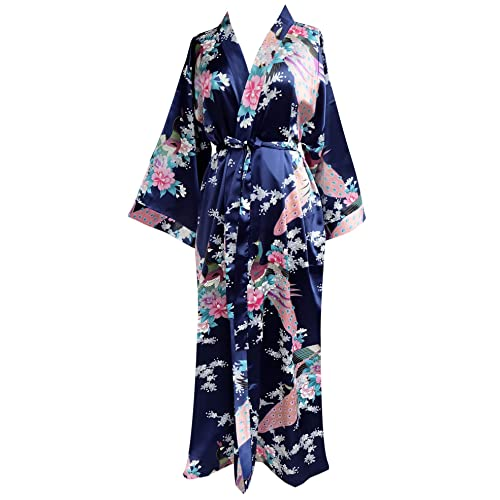 JANA JIRA Women s Long Ankle Length Robe for Women Plus Size Nightgowns ebdec2cef
