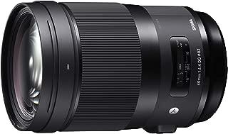 SIGMA 単焦点標準レンズ 40mm F1.4 DG HSM   Art A018 SONY-Eマウント用 ミラーレス(フルサイズ)専用