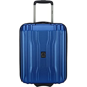 DELSEY Paris Cruise Lite Hardside 19 Intl Carry on Exp Blue Spinner Trolley