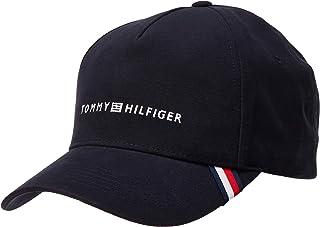 تومي هيلفغر قبعة البيسبول والسناباك للرجال ، قياس واحد - اسود
