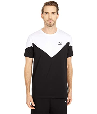 PUMA Iconic MCS Tee (PUMA Black) Men