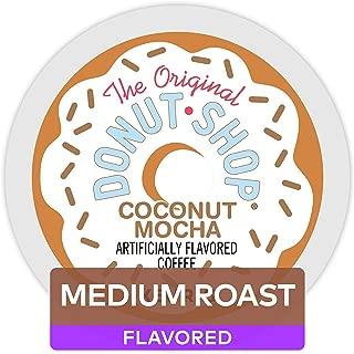 The Original Donut Shop Coffee, Coconut Mocha, 4.1 Ounce, 12 Count