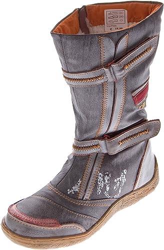 Stiefel de piel de invierno, para damen, con zapato forrado