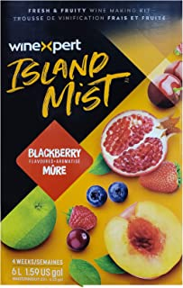Blackberry Cabernet (Island Mist) Wine Ingredient Kit