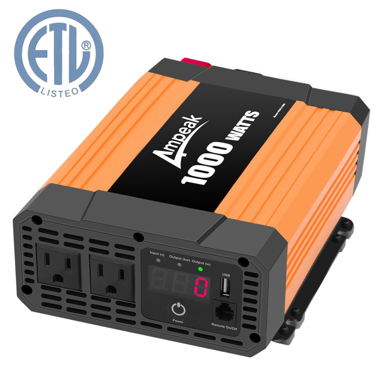Ampeak Inverter Converter Outlets Modified