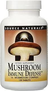 Mushroom Immune Defense Source Naturals, Inc. 120 Tabs