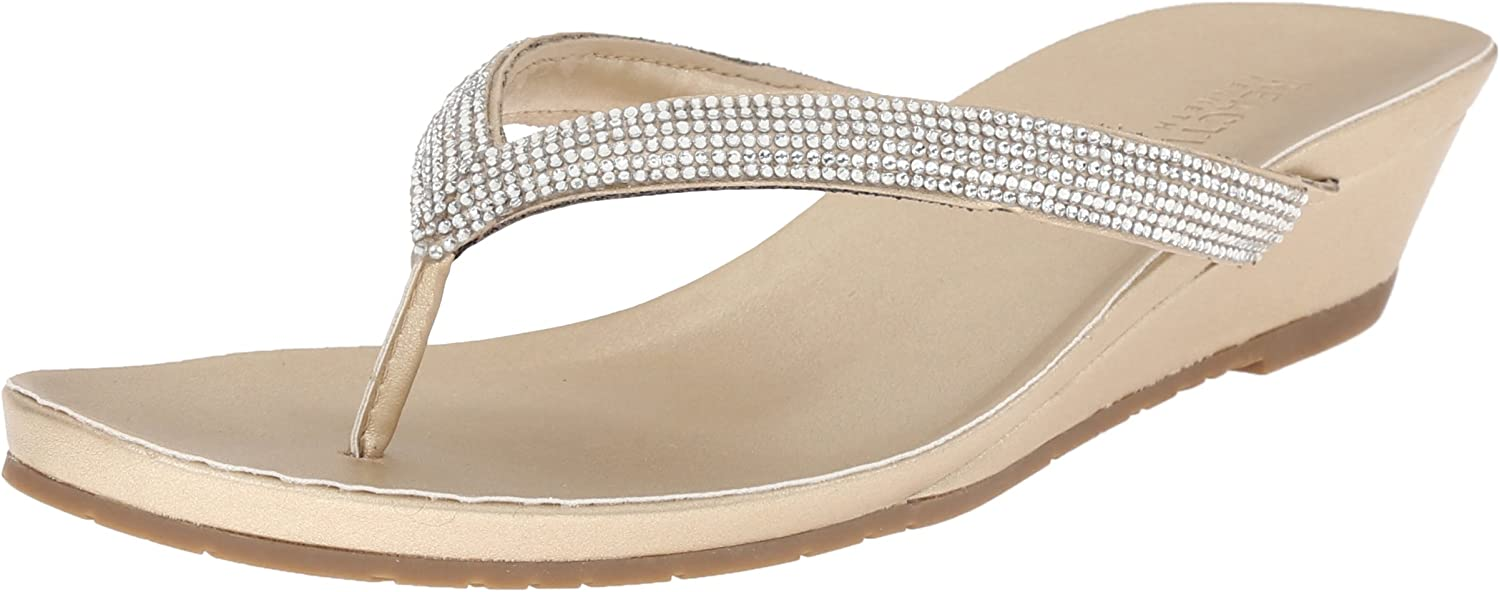 Kenneth Cole Reaction Women's Great Time Wedge Thong Sandal