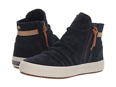 Sperry Crest Lug Zone Suede (Blue) Women