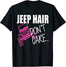 Jeep Hair Don't Care Funny T-Shirt T-Shirt