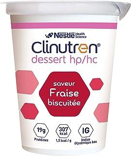 Nestlé CLINUTREN HP HC postre, fresa galleta, fresa