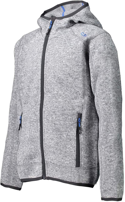 CMP Knit Tech Polyester-strickfleecejacke Mit Kapuze Chaqueta En Forro Polar De Punto Knit Tech Con Capucha Ni/ños