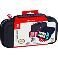 Nintendo Switch Carrying Case – Protective Deluxe Travel Case – Black Ballistic Nylon Exterior –...