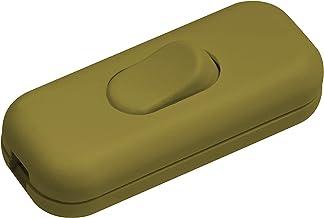 Meister Tussenschakelaar 1-polig, 2,5 A, trekontlasting, goud, 7441200
