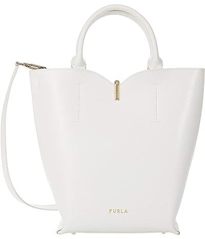 Furla Ribbon Small Bucket Bag (Talco) Handbags