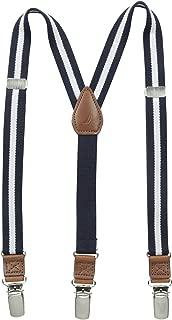 Boys Adjustable Striped Suspender
