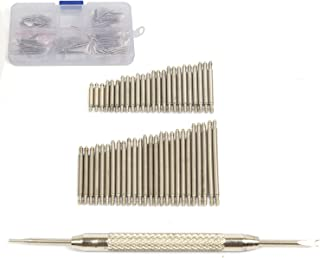 360 Pcs 20 Sizes 6-25mm Stainless Steel Watch Band Spring Bars Link Pins with Strap Link Pin Remover Kit