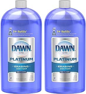 Dawn Platinum Erasing Dishwashing Foam Refill, Fresh Rapids, 30.9 oz. 2 pk