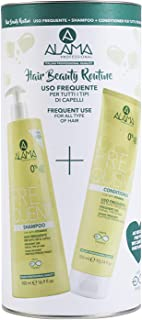 A ALAMA Professional Frequent Hair Beauty Routine Box, Set Shampoo+Conditioner - 824 ml